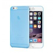 Light Blue Slim Series 0.3mm Ultra Thin iPhone Case
