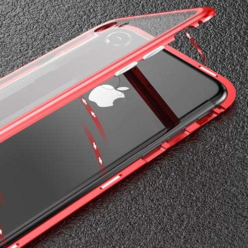 Magnetic Glass Case for iPhone