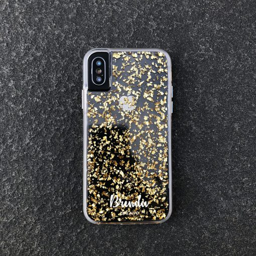 24k custom iphone case