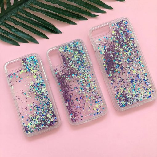 sparkle glow custom iphone case