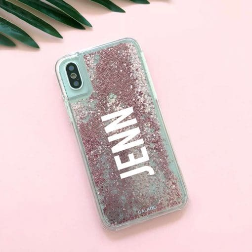 custom glitter sparkle iphone case