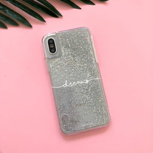 custom glitter sparkle iphone case